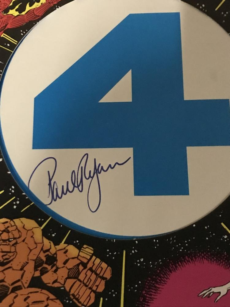 Fantastic Four #358 signed by Paul Ryan