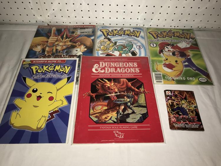 Pokemon Yugioh D+D Lot of 5