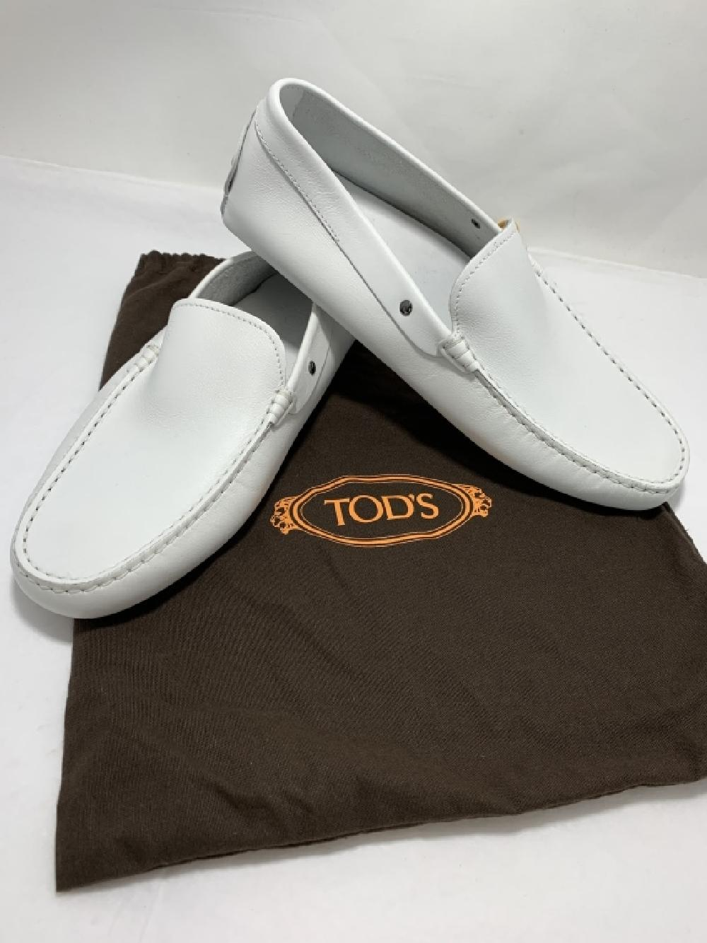 WHITE LEATHER LOAFERS SHOES MENS US