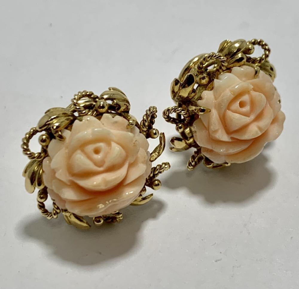 Pale Pink Angel Earrings
