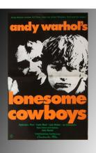 Andy Warhol, Lonesome Cowboy Movie Poster