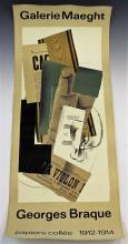 Georges Braque Gallery Exhibition Poster
