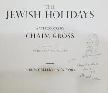 Chaim Gross Drawing