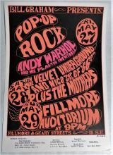 Andy Warhol Nico Underground Poster