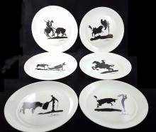 Pablo Picasso Madator Plates
