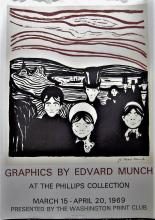 Edvard Munch Exhibition Poster