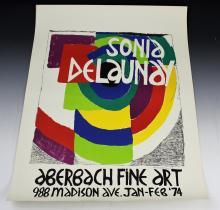Sonia Delaunay Exhibition Poster