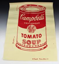 Andy Warhol Campbell's Soup Silkscreen