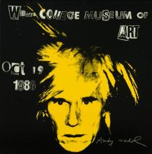 Andy Warhol, Williams College Exhibition Poster