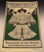 Maxfield Parrish, Columbia Bicycles Advertisement