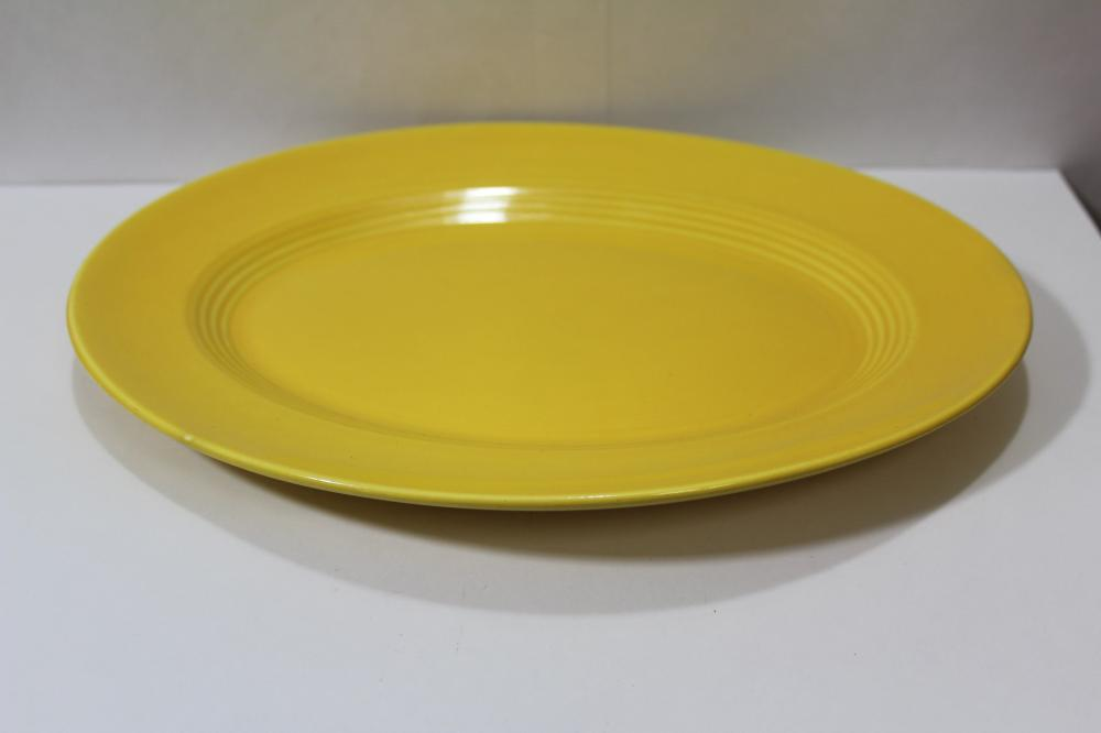 A Vintage Fiesta Oval Plate