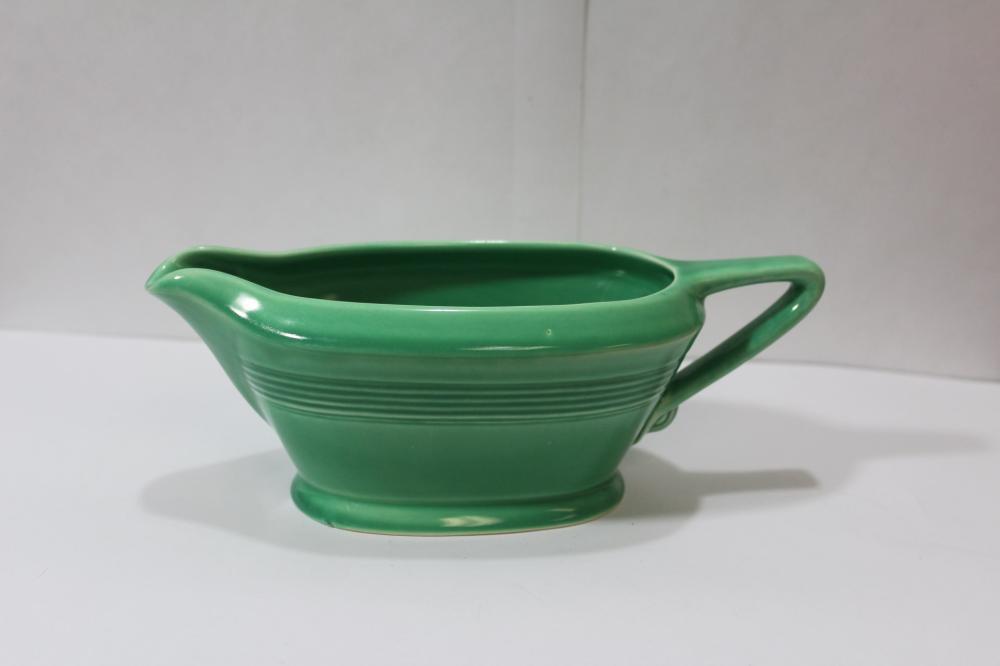 A Vintage Unmarked Fiesta? Gravy Bowl