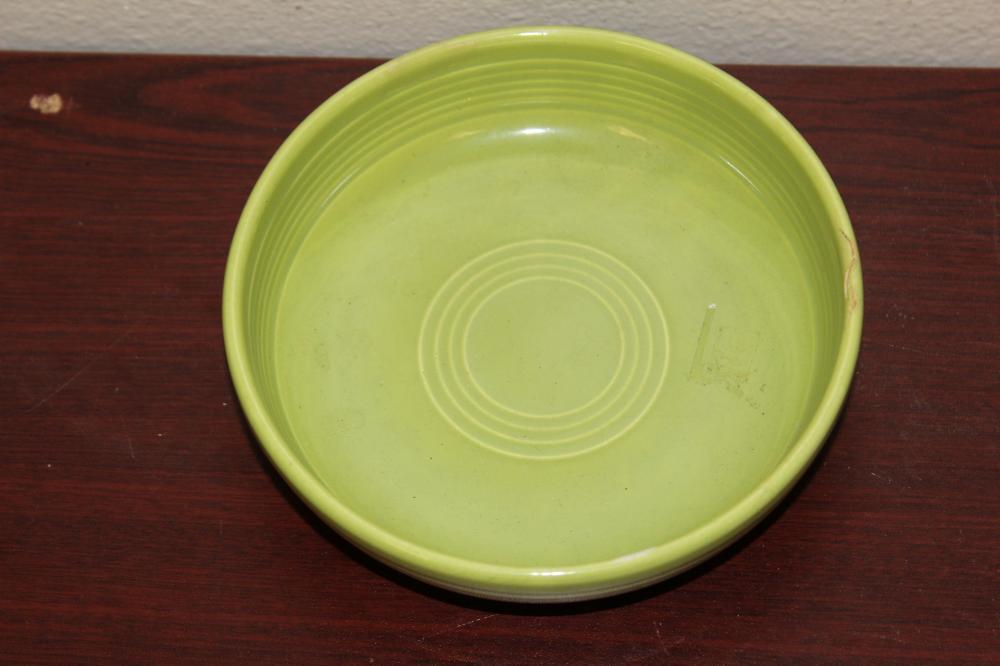 A Vintage Green Fiesta Bowl