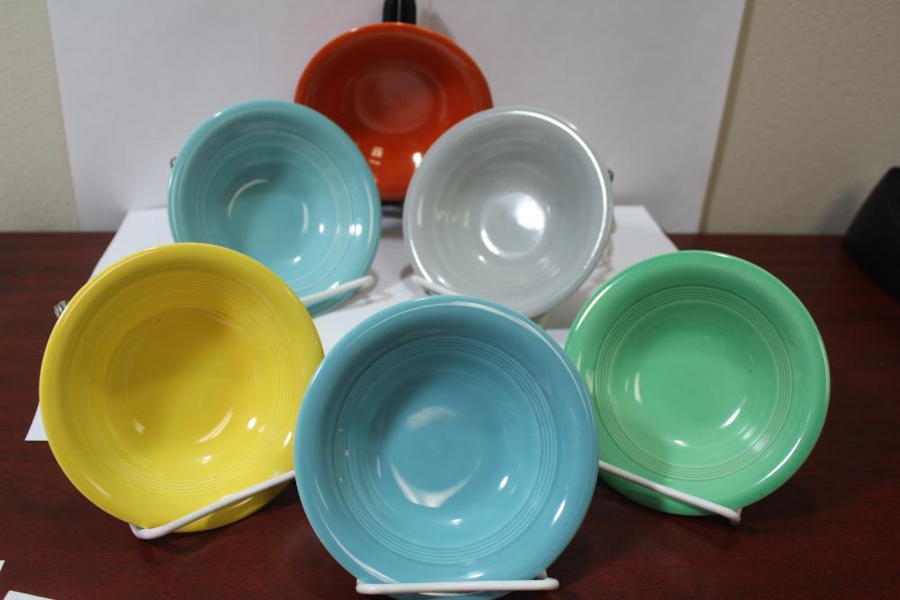 Set of 6 Mixed Color Fiesta? Bowls