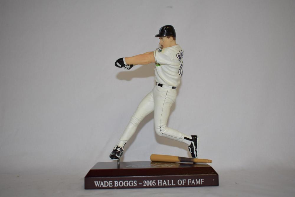 Wade Boggs Figurine in Devil Rays Uniform