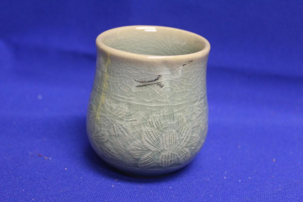 A Vintage Korean Celadon Cup