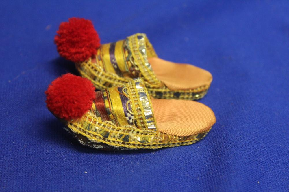 A Miniature Pair of Shoes