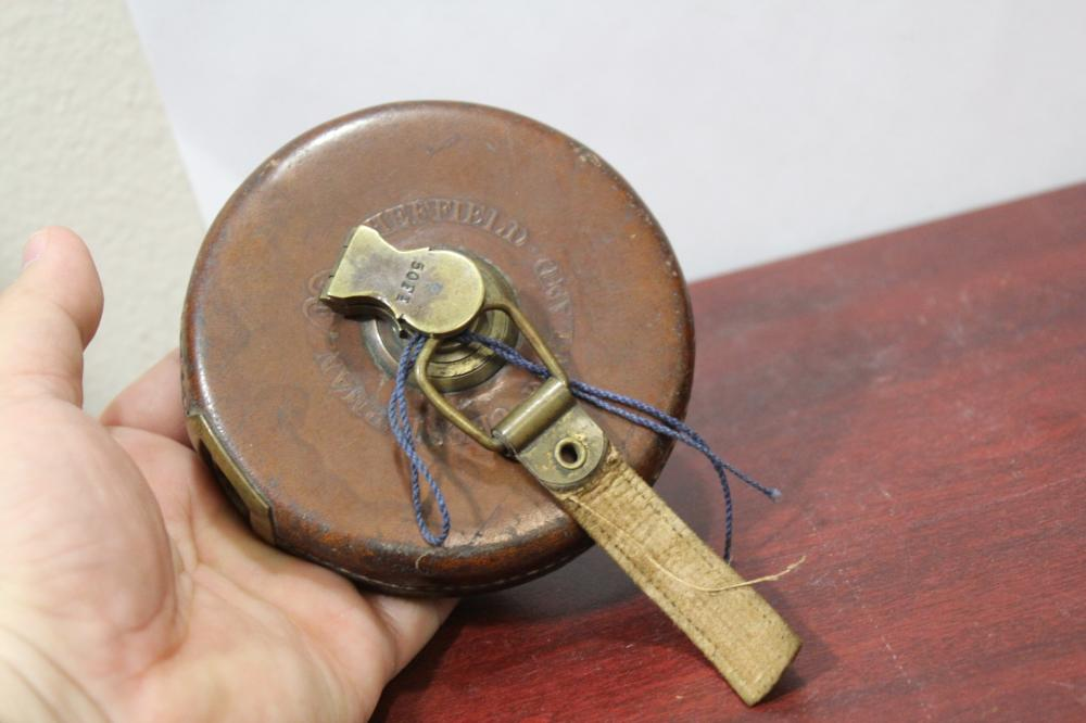 A Vintage Chesterman/Chesterfield Measuring Tape