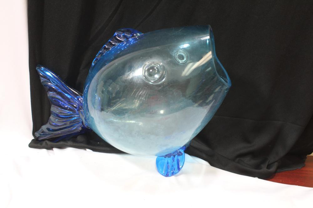 A Blenko Fish Tank