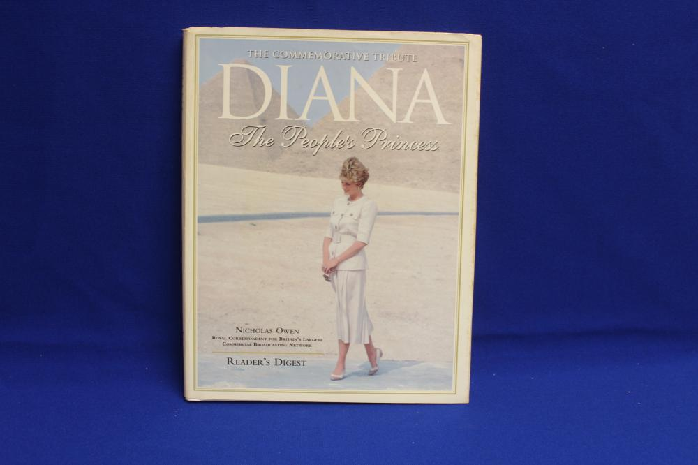 Hardcover Book on Lady Diana