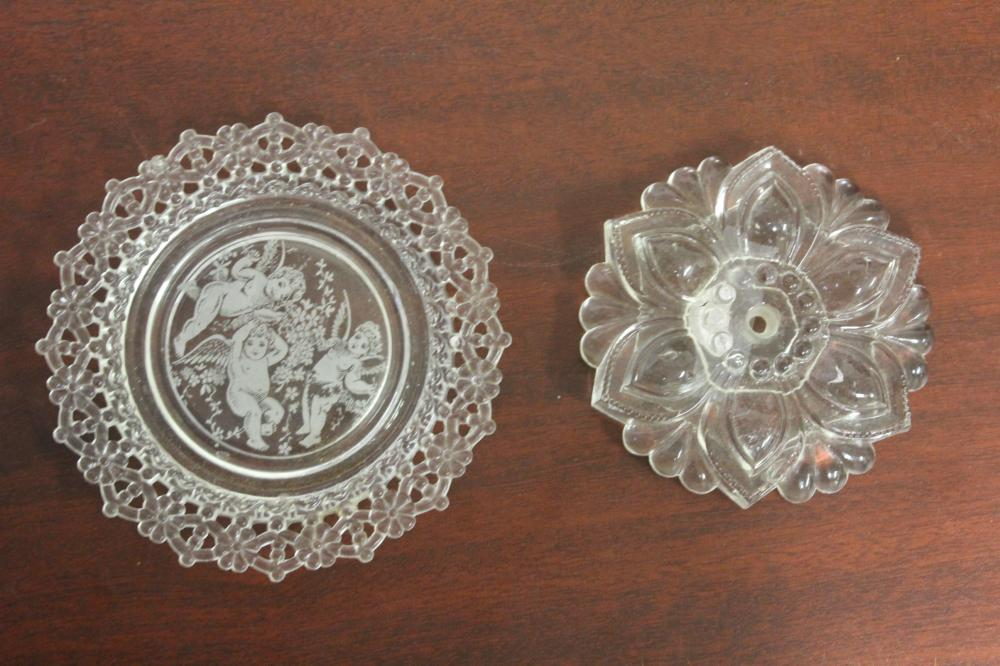 Lot of Two Glass Articles