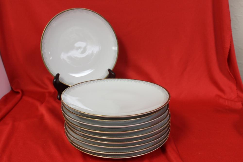 A Set of 10 Bavarian Plates