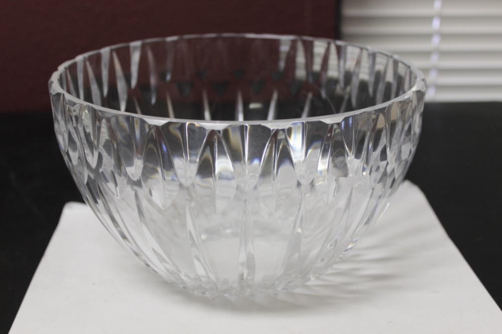 A Cut Glass Bowl