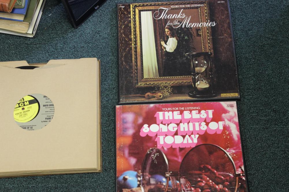 Lot of 3 Song Albums Set