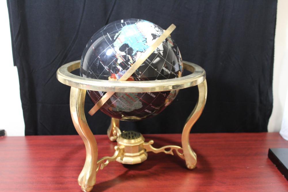 A Globe on Stand