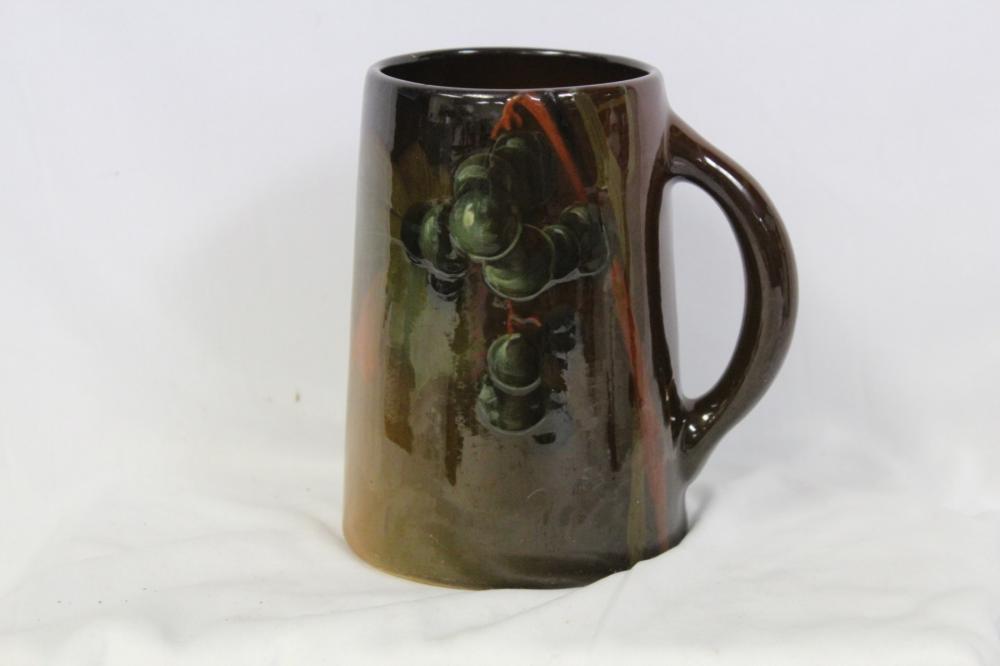 A Weller Gloss Glaze Art Pottery Mug