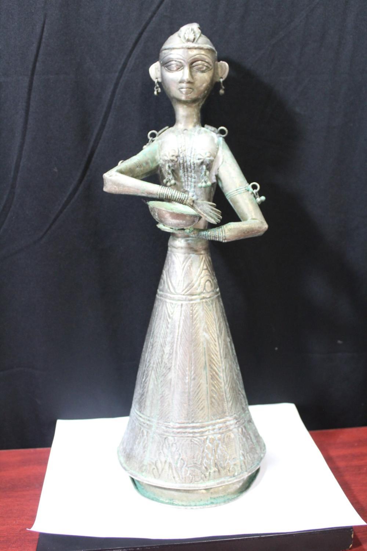 A Tin Statue
