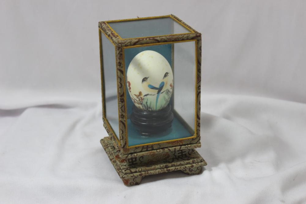 A Chinese Handpainted Egg