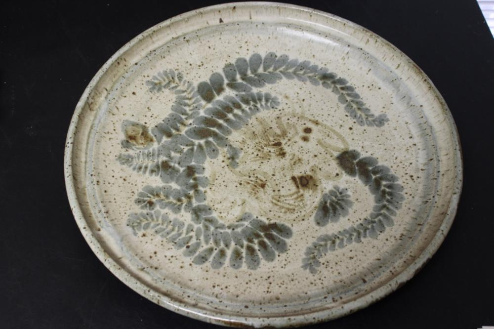 A Pottery Charger - Art Pottery