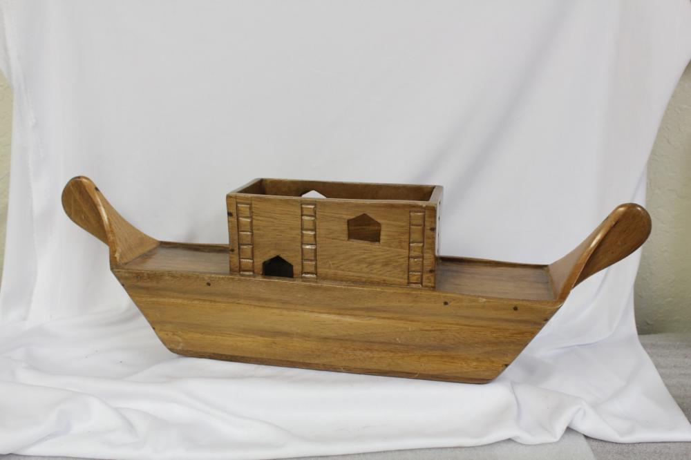A Wooden Ship Planter?