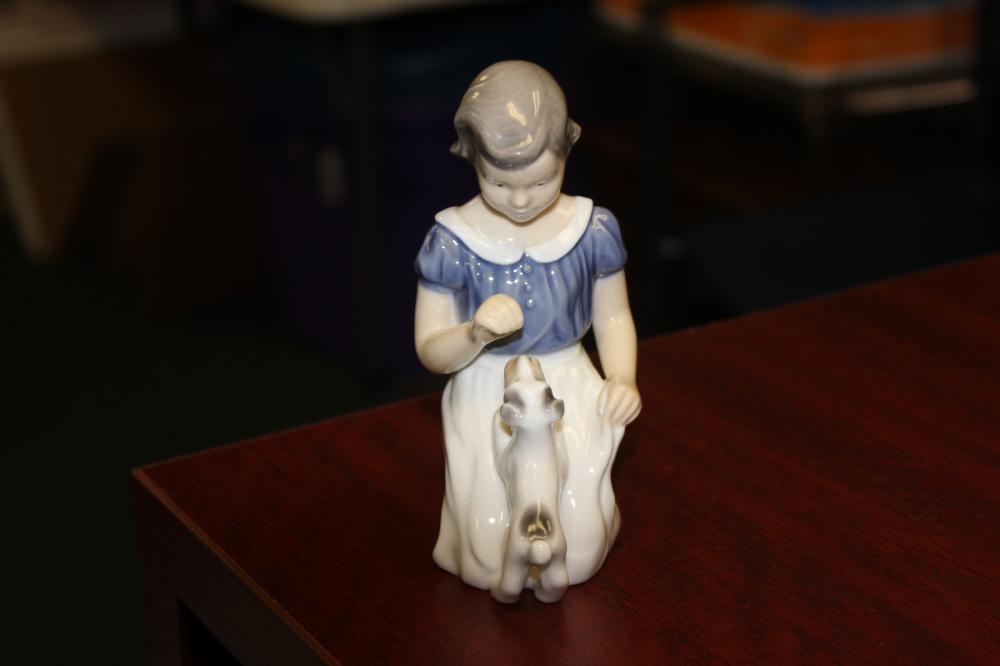 Band G Denmark Porcelain Figurine