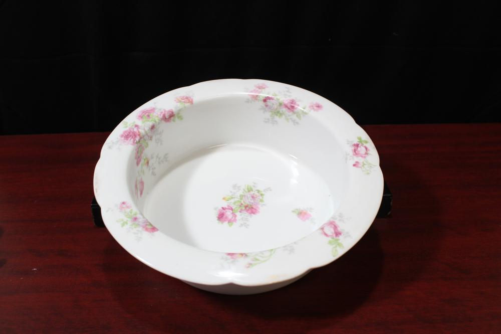 A Round Limoge Bowl