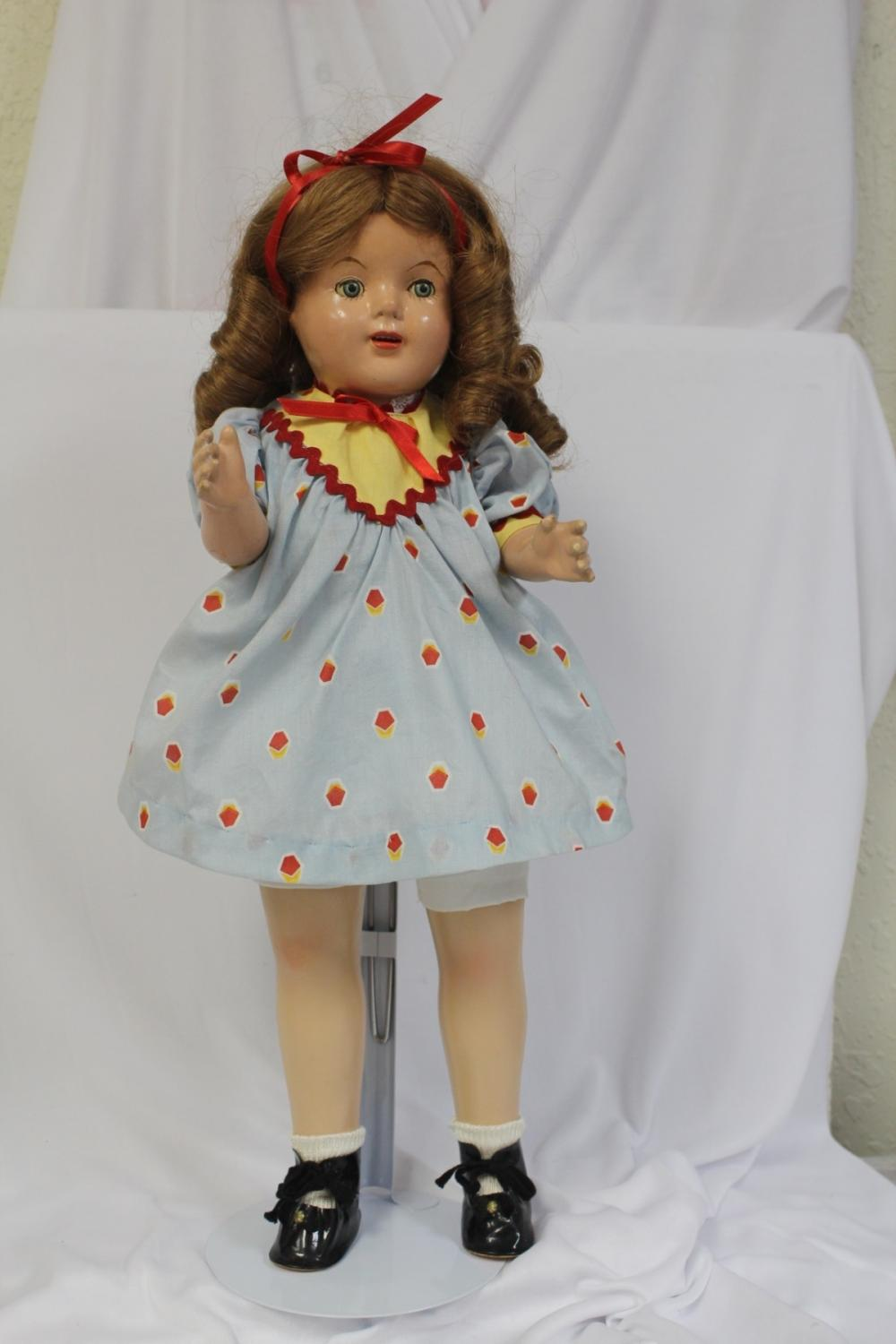 A Shirley Temple-Style Doll