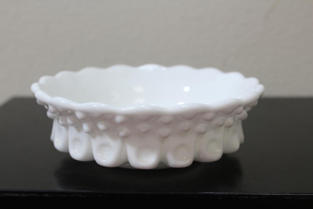 A Milk Glass Stand? Or Bowl?