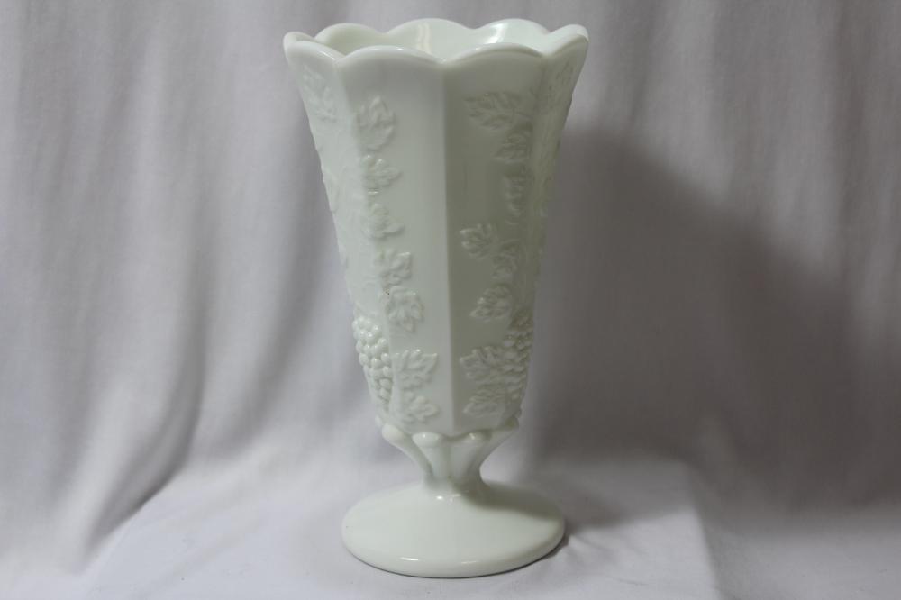 A Milk Glass Vase