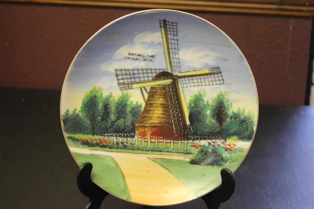 Collector's Plate - Windmill