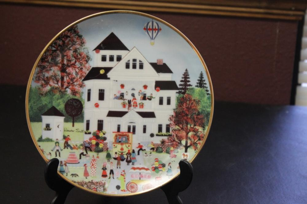 Collector's Plate by Wooster Scott