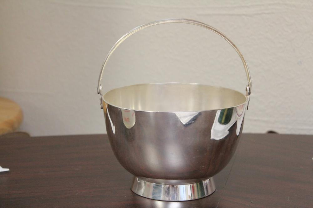 A Silverplated Bucket