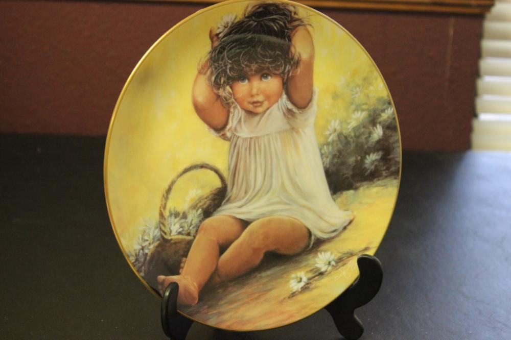 Collector's Plate by Sue Etem
