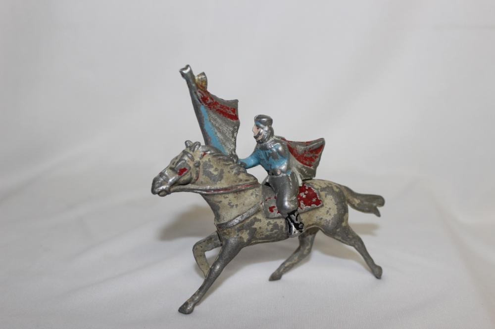 A Metal Horse and Rider/Knight