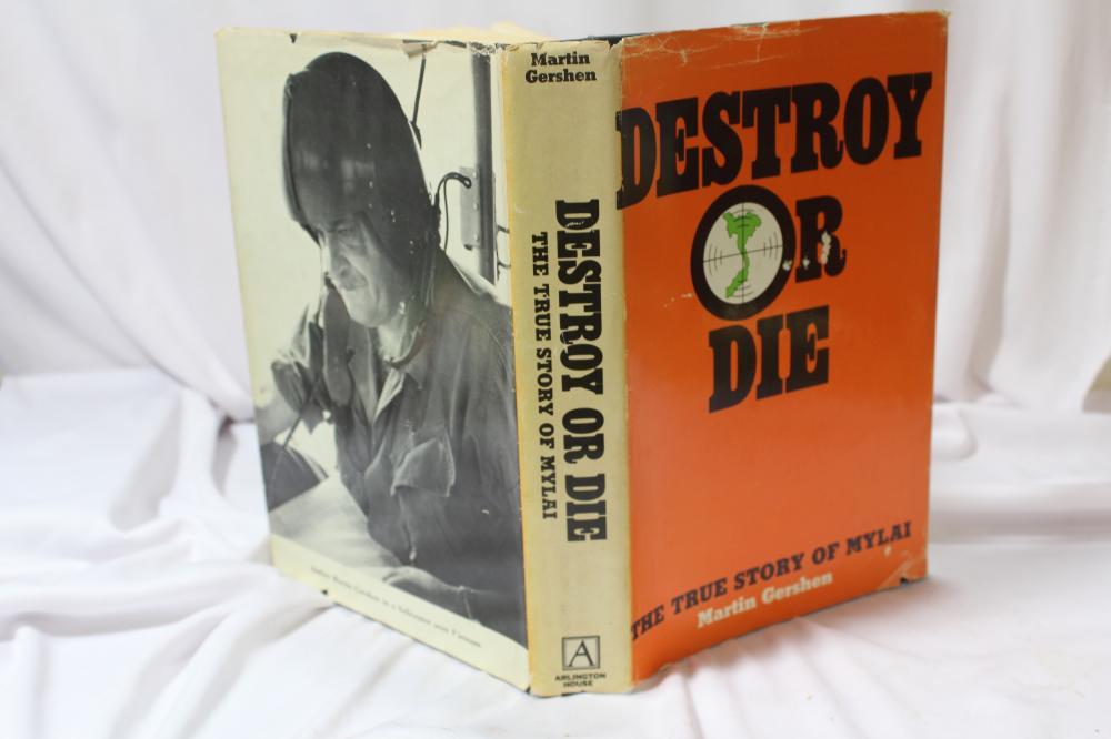 Destroy or Die - Hardcover Book