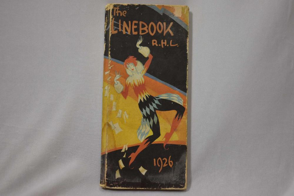 Hardcover Book - The Linebook R.H.L.