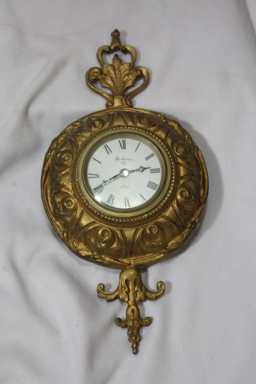 A Bonhomme AG Paris, France Cartel Clock