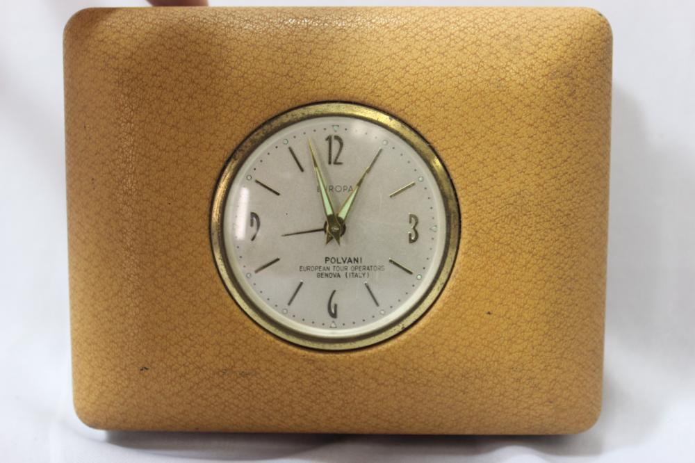 An Europa Traveling Clock