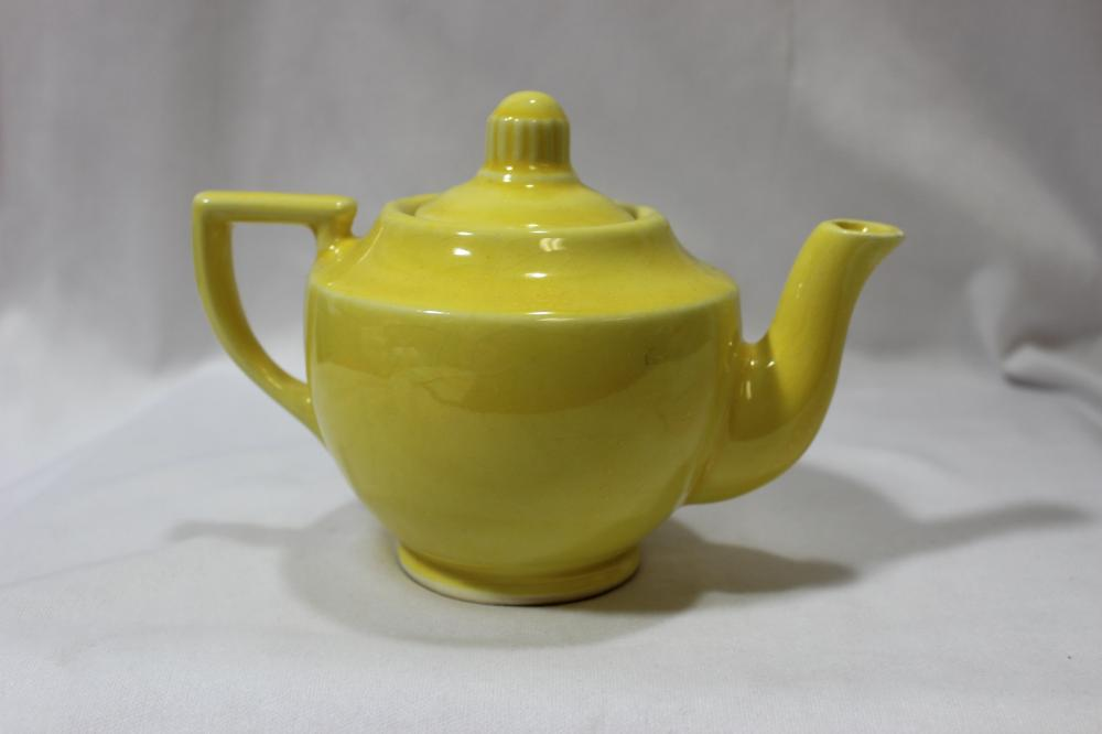 A Vintage Shawnee Pottery Teapot