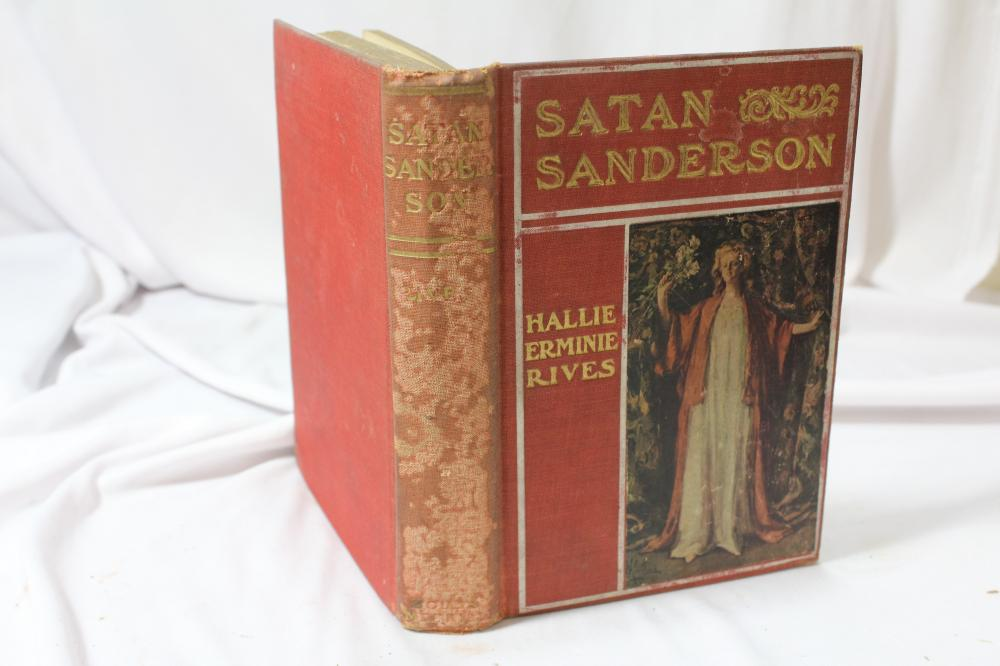 Satan Sanderson - Hardcover Book
